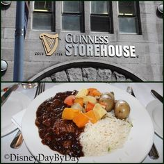 Favorite Food Friday - Guinness Beef Stew from the Guinness Storehouse in Dublin Ireland