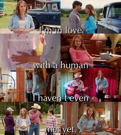 """callmebethany2010: """" Heartland Season 10 """"I'm in love with a human I haven't even met yet"""" """""""
