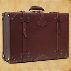Saddleback Leather is a great company. My mom has a ton of their stuff. Someday I will be a globetrotter with this amazing leather suitcase