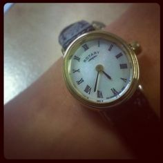 Are you one who likes tiny watches? #Rotary