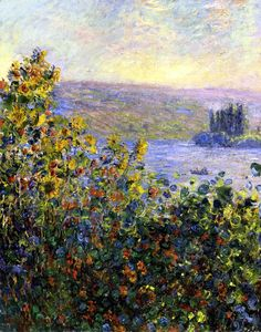 Claude Monet - Flowers-Beds at Vetheuil