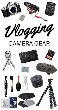 Best Vlogging Camera Gear + What We Use to Make YouTube Videos