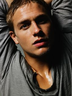 God deserves a slow clap on this one...Charlie Hunnam, everybody.