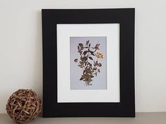 Check out this item in my Etsy shop https://www.etsy.com/listing/516204168/pressed-flower-art-print-8x10-matted