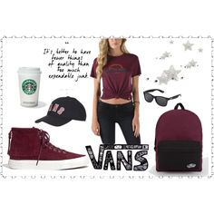 ♠ Vans! by ruzi-78 on Polyvore featuring moda, Vans, Madewell, Topshop and vans