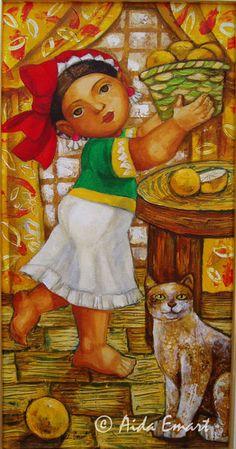Sim n silva orgullo de familia sim n silva 1961 for Mural una familia chicana