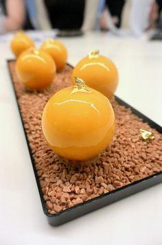 Délice mangue, vanille, caramel Réalisé par Francois Daubinet Michalak Masterclass