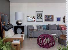 Apartamento integrado tem decoração inspirada em São Paulo e Pernambuco