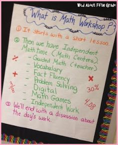 Wild about fifth grade: Launching Math Workshop - Step by Step - Must Have Resources & Freebies