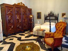 Museo Cerralbo. Dormitorio del Marqués de Cerralbo