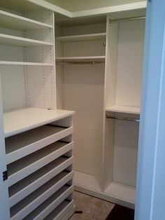 Closet Solutions CA Before And After   Closet   Laura Ferraro