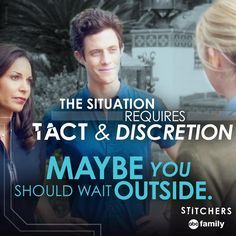 """S1 Ep7 """"The Root of All Evil"""" - LOL! #Stitchers #7/14/15"""