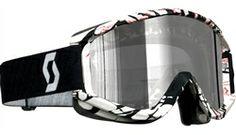 2014 Scott Recoil Xi Pro Smash Chrome Works Dirt Bike Off-Road Motocross Goggle