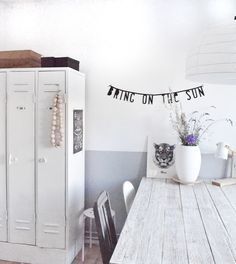 Lockers would be fun for a house with multiple roomies. Great way to keep personal items/winter trappings at bay...