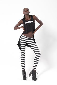 Jailhouse Leggings added to my Black Milk collection