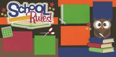 School Rules Page Kit