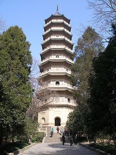 Porcelain Tower of Nanjing.  China  Wonder of the Medieval World.  5/7