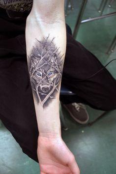 wolf tattoo forearm - Pesquisa Google