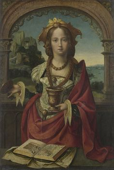 The Magdalen or ? [This, or a similar painting, was said to be someone else.. somewhere; can't remember who...]