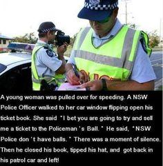 NSW policemans ball