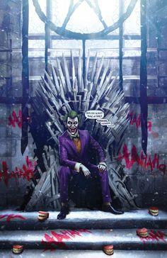 Game of Thrones Ending Joker Spoiler by FableBound