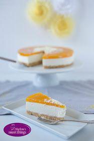 Marlene's sweet things: No bake Passionfruit Cheesecake