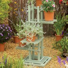 Stand and Pedestal Planter Plant Pots Flowers Green Garden Porch Novelty NEW in Garden & Patio, Garden & Patio Furniture, Other Garden & Patio Furniture | eBay