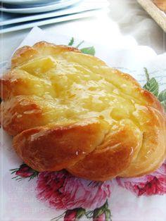 Brioches danesi a colazione / włoskie śniadanie na słodko