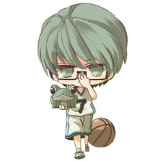 Kuroko no Basket ~~ Chibi Mido