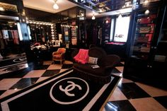 chanel closet | This house was actually featured on HGTV. The woman loved Chanel ...