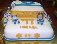 Tarta para Yom Haatzmaut Israel 65