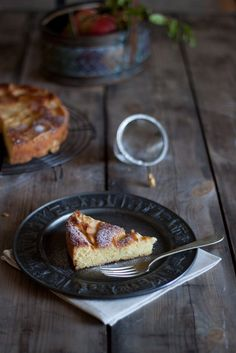 Apple cake. #recipe, #food_photography, #styling