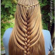 Love Braided hairstyles for long hair? wanna give your hair a new look? Braided hairstyles for long hair is a good choice for you. Here you will find some super sexy Braided hairstyles for long hair, Find the best one for you, Mermaid Braid, Beautiful Braids, Gorgeous Hair, Pretty Braids, Braids For Long Hair, Braided Hairstyles For Long Hair, Braids Easy, Braids Cornrows, Pretty Hairstyles