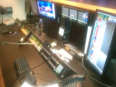 Ever wonder where the producer sits? 10 News, Behind The Scenes