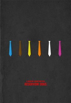 Reservoir Dogs - Minimalist Movie Poster