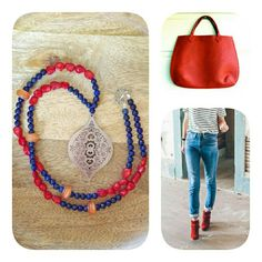 Casual time in red details !!!