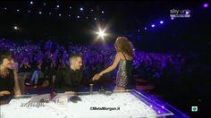 Morgan e Kylie Minogue a @X Factor Italia - 8^ puntata 06.12.2012