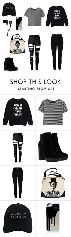 """Black moe"" by ellinoora03 ❤ liked on Polyvore featuring WithChic, Hogan, River Island, Nasaseasons and Skullcandy"