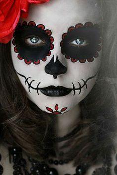 fantastische Ideen für Halloween Schminke