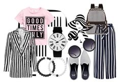 """Black & White"" by queenfimac on Polyvore featuring Eleanor Stuart, Monsoon, Henri Bendel, Alice + Olivia, Lokai, Rosendahl and Topshop Unique"