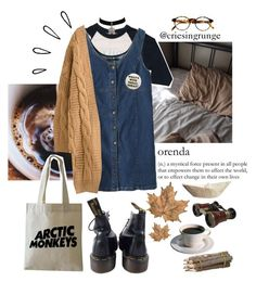Untitled #1024 by plumpyprincess on Polyvore featuring Floyd, Dr. Martens, François Pinton and Old Navy
