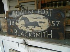 Electronics, Cars, Fashion, Collectibles, Coupons and Vintage Horse, Vintage Wood, Vintage Signs, Primitive Signs, Primitive Folk Art, Horse Therapy, Horse Stables, Old Wood, Blacksmithing