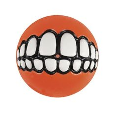 Rogz Grinz Large 3 Dog Ball Treat Toy Orange -- Want to know more, click on the image. This is an Amazon Affiliate links.