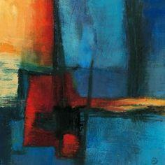 Abstract Night Canvas Art - Bea Danckaert (24 x 24)