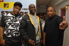 David Jude Jolicoeur, Kelvin 'Posdnuos' Mercer, and Vincent 'Maseo' Mason of De La Soul