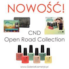 Najnowsza, wiosenna kolekcja CND OPEN ROAD! http://galeriakosmetyk.pl/search.php?text=open%20road&counter=0
