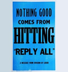 """""""Rod, you sent this email reply all. Ya hit reply all."""" // Nothing good comes from hitting """"reply all"""""""