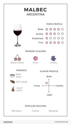 Guide Vin, Wine Guide, Wine Tasting Notes, Wine Tasting Party, Wine Parties, Vino Malbec, Cabernet Sauvignon, Wine Facts, Wine Chart