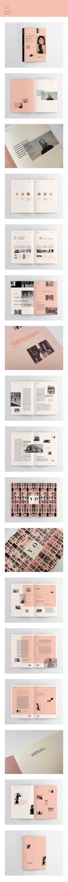 Sophie Calle | Hacedores de Mundo – design by Yamila Troilo