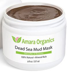 Amara Organics Dead Sea Mineral Mask for Face & Body